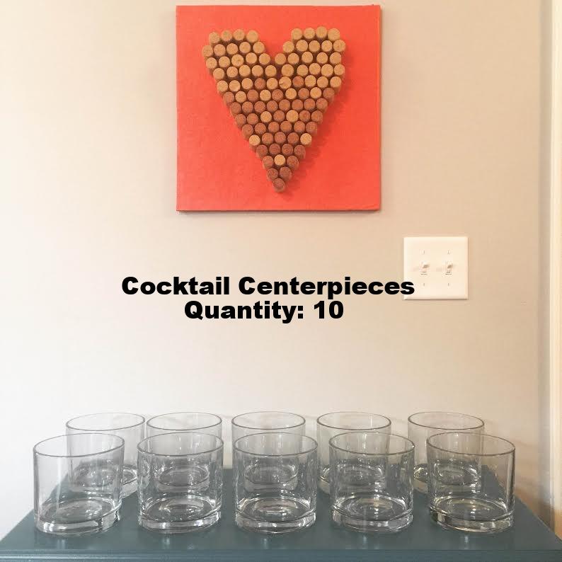 Cocktail Centerpieces