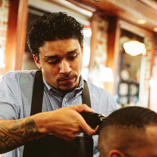 Being a barber is about taking care of the people. Let Throne take care of you thronepdx.com #thronepdx