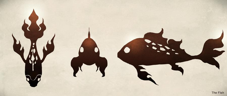 Barong fish form