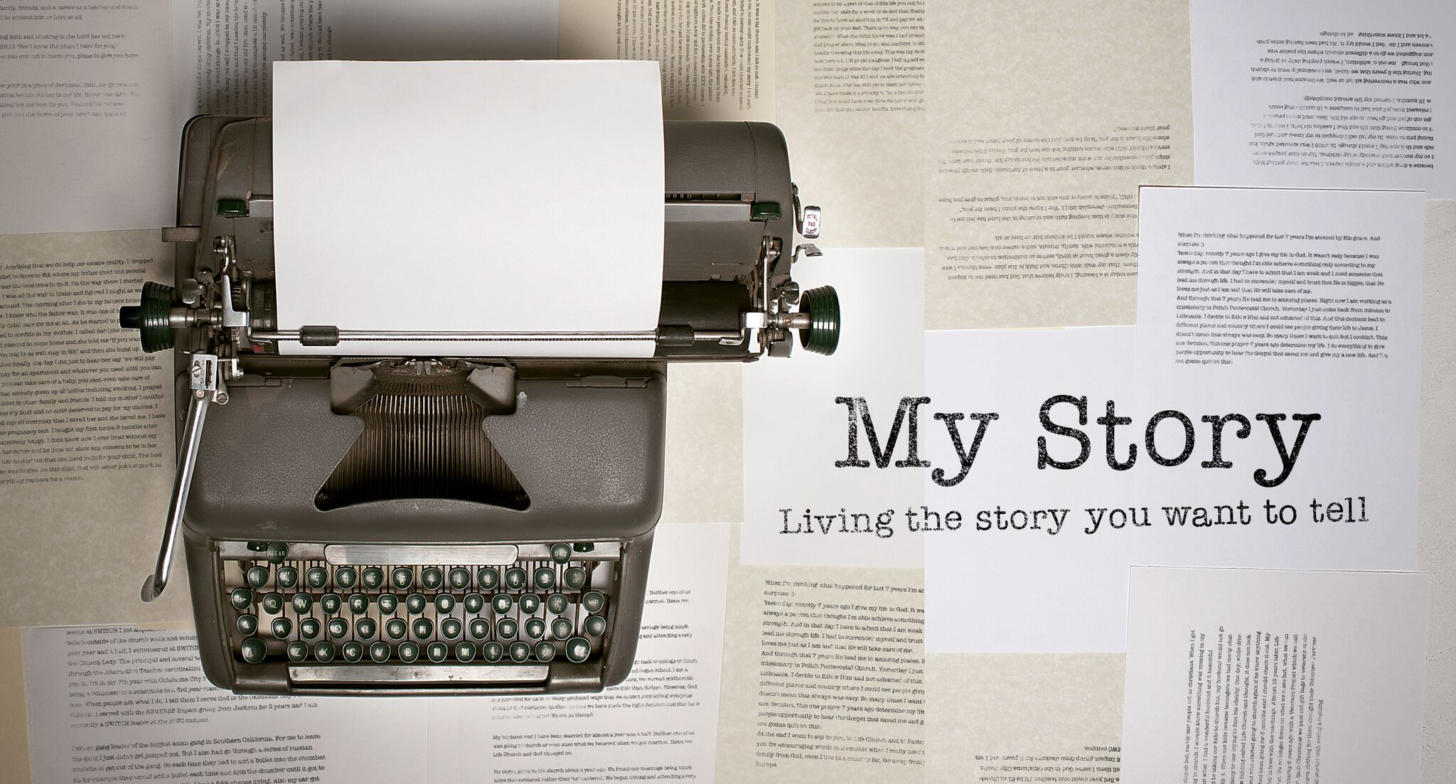 """In the four-week series """"My Story,"""" learn to live a story worth telling. With examples from the Bible, this series teaches us to start, stop, stay, and go according to God's will."""