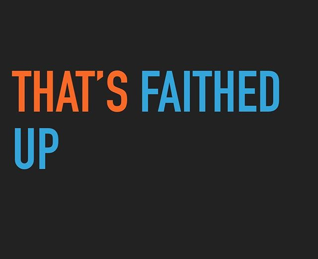 We're ready for part 2 of our series #thatsfaithedup come hang out with us at 3712 Anchor Bay Dr!
