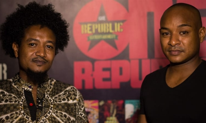 Owners of The Republic Bar and Grill, Kofi and Raja Owusu-Ansah  Picture Courtesy of The Republic Bar and Grill
