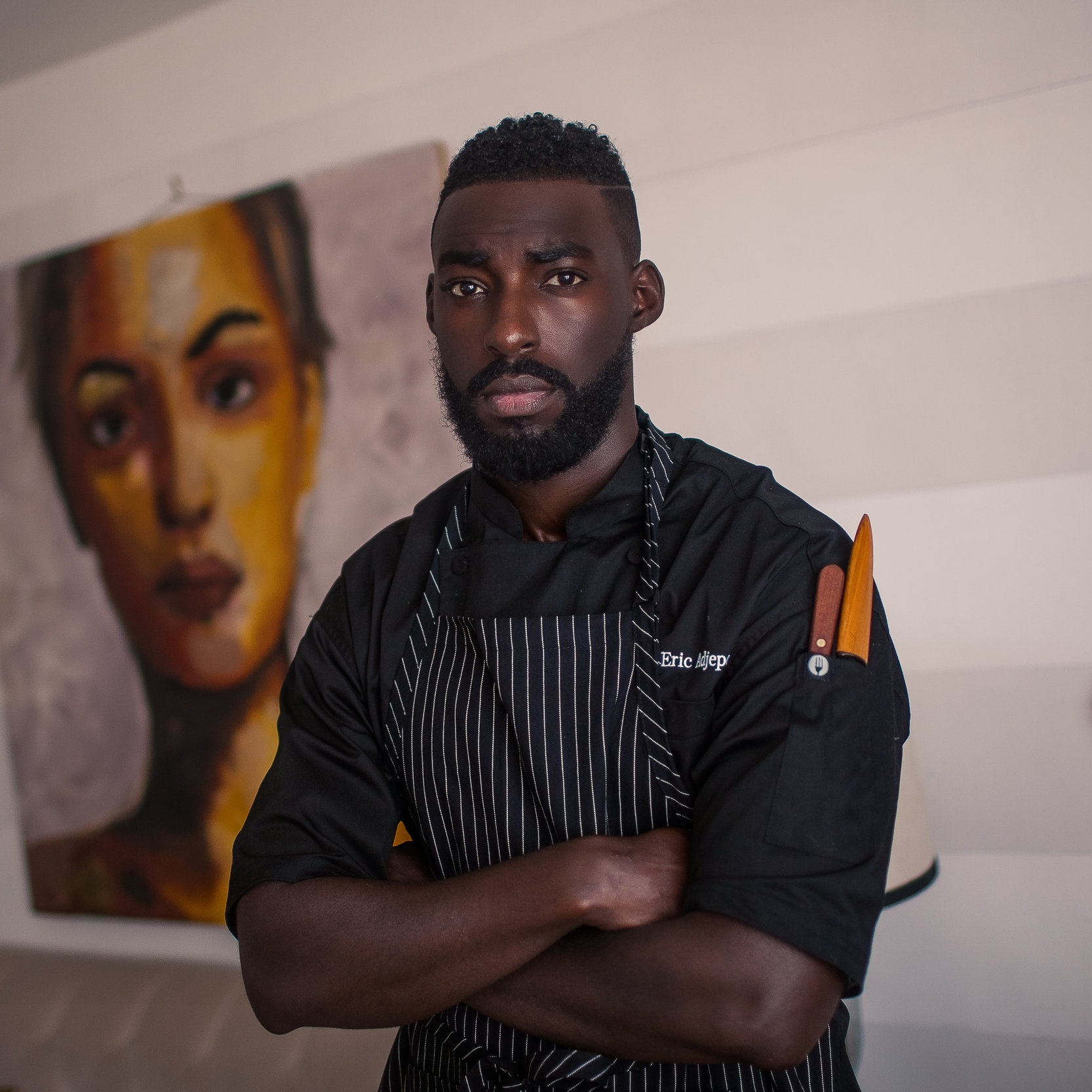 Eric Adjepong - Chef and Owner of Pinch and Plate