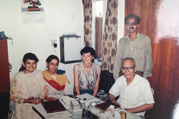 Studying in Delhi with Dr. HL Chitkara 1994