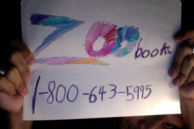 """The """"Zoobooks"""" telephone number to order your subscription."""