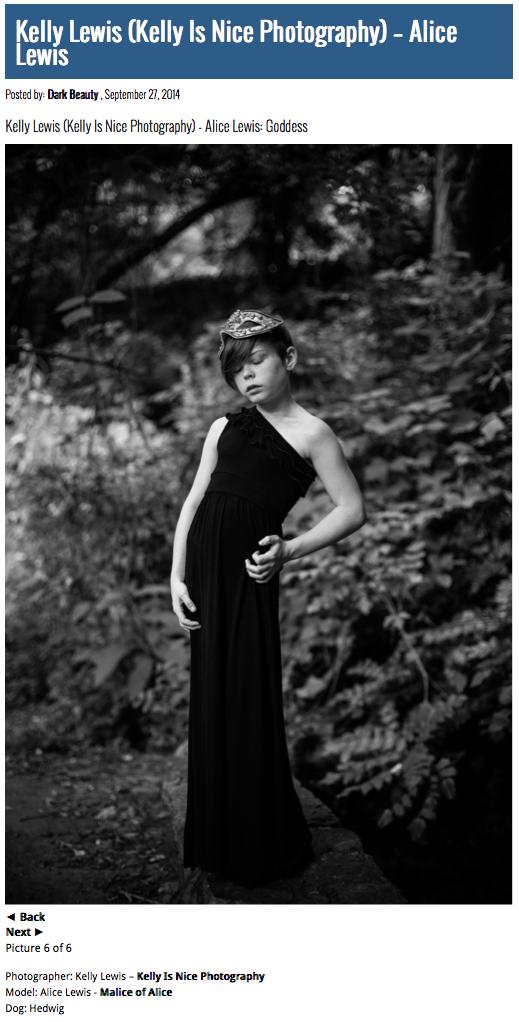 Alice Lewis as Goddess