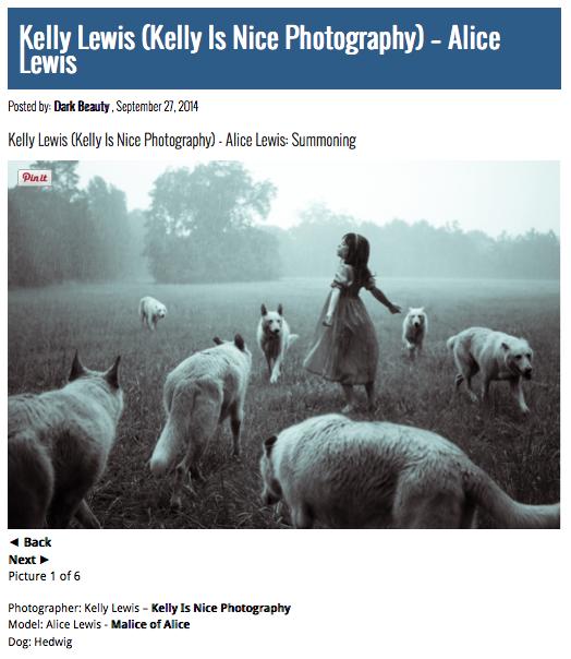 "Alice Lewis in ""The Summoning"""