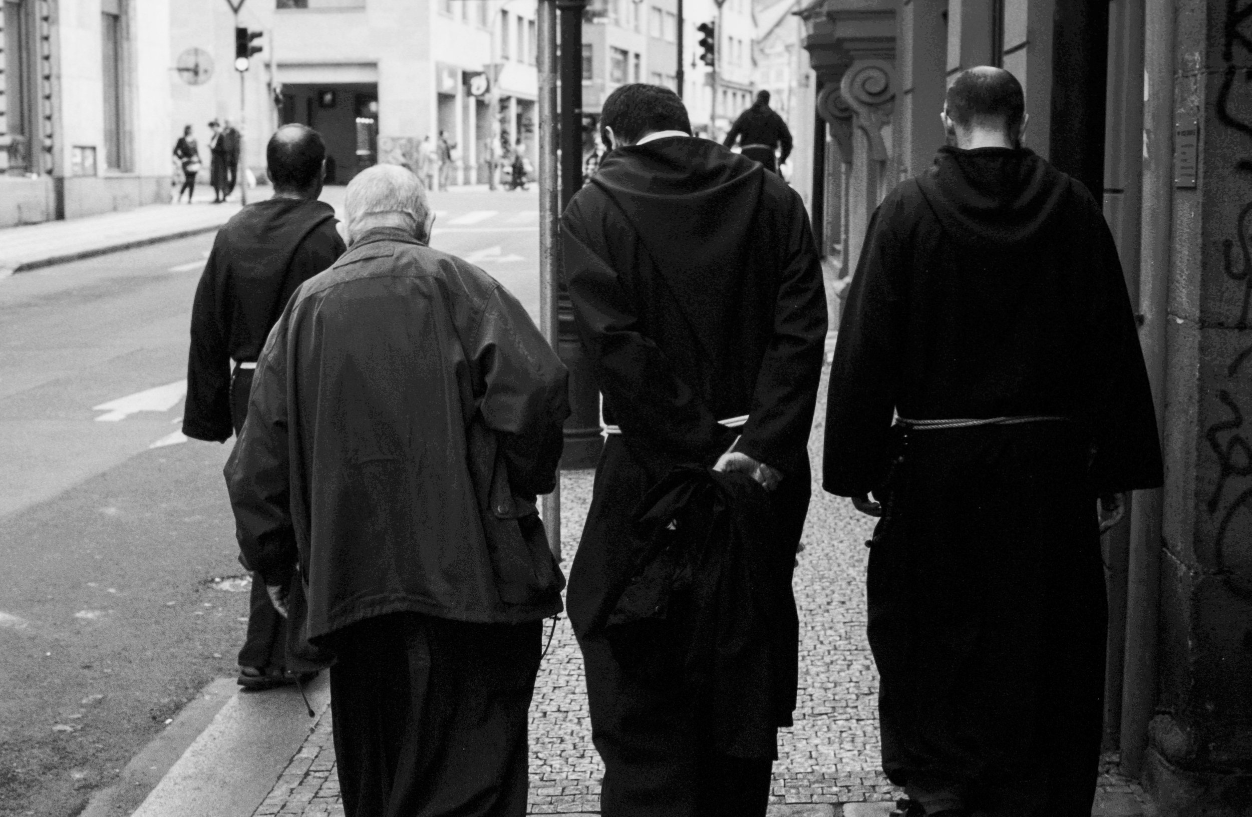 Franciscan Monks, Prague