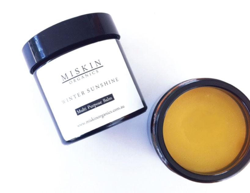 Winter Sunshine Balm by Miskin Organics
