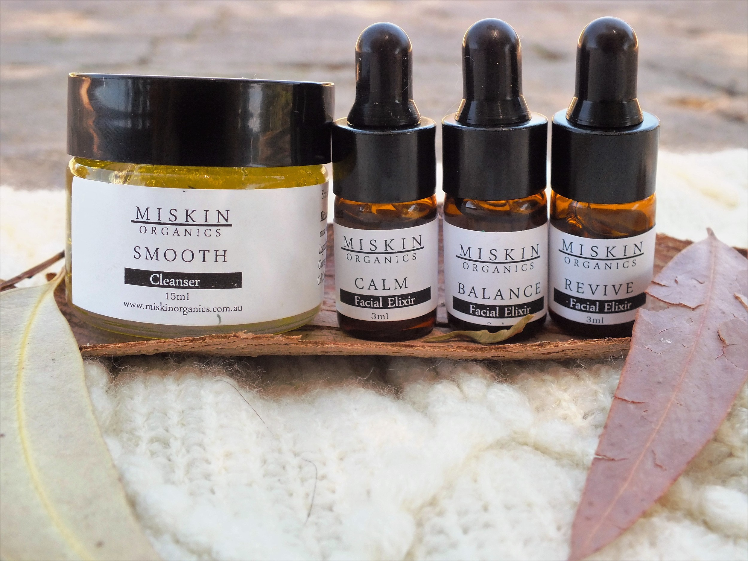 The Vibrant Home: Miskin Organics Sample Kit
