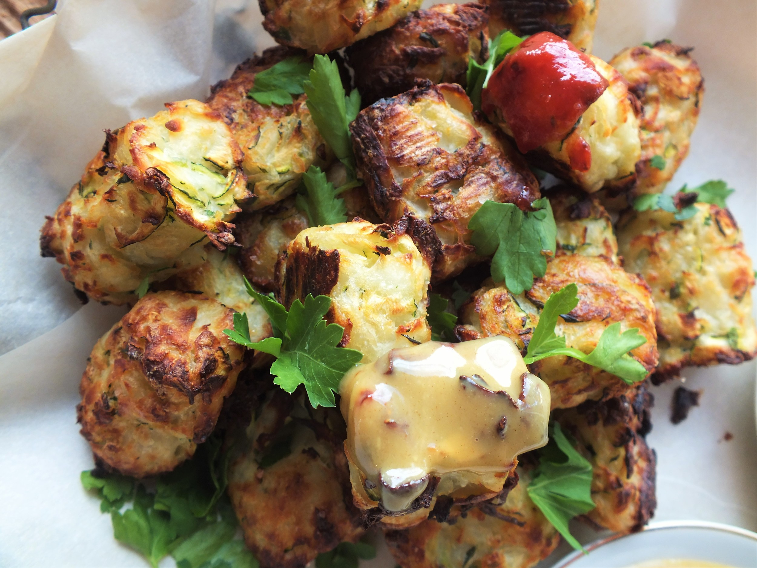 Little Bites :: Zucchini Tater Tots