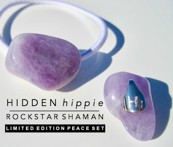 Hidden Hippie Rockstar Shaman Limited Edition Peace set