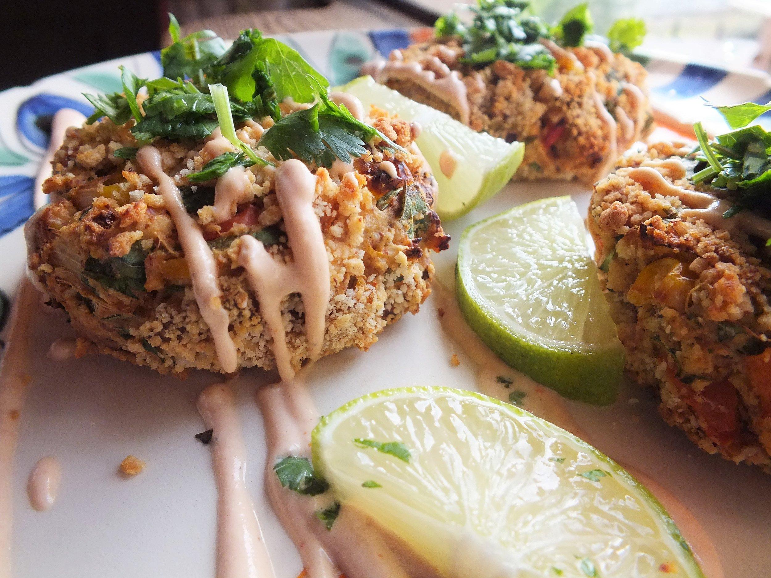 Heart of The Sea Crab Cakes Vegan/GF