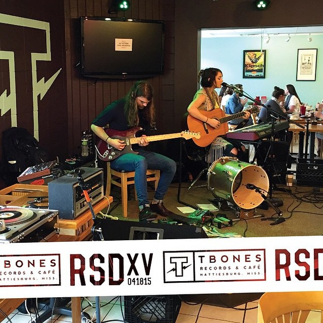 our in-store performance at record store day