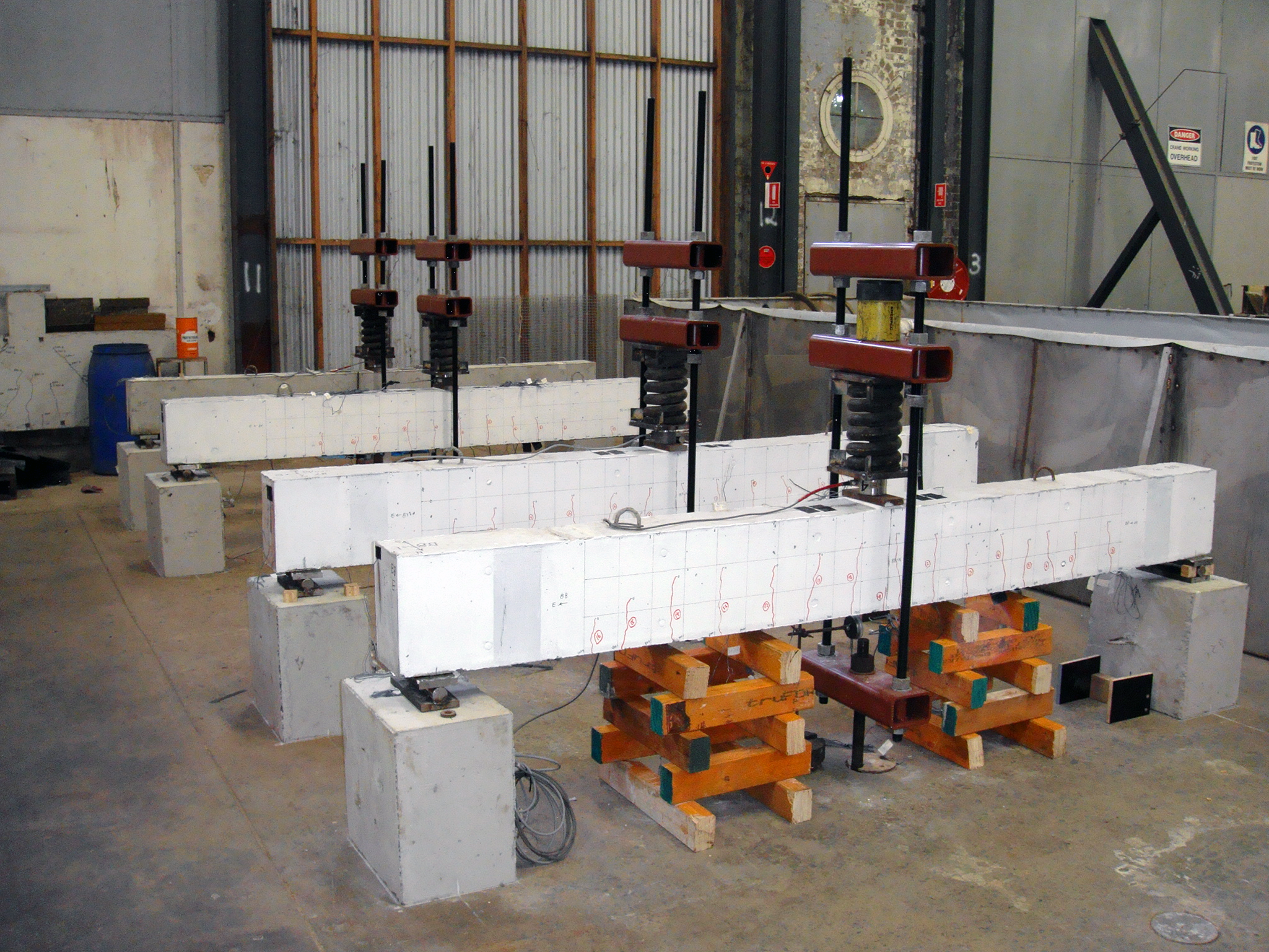 Beams under sustained loads