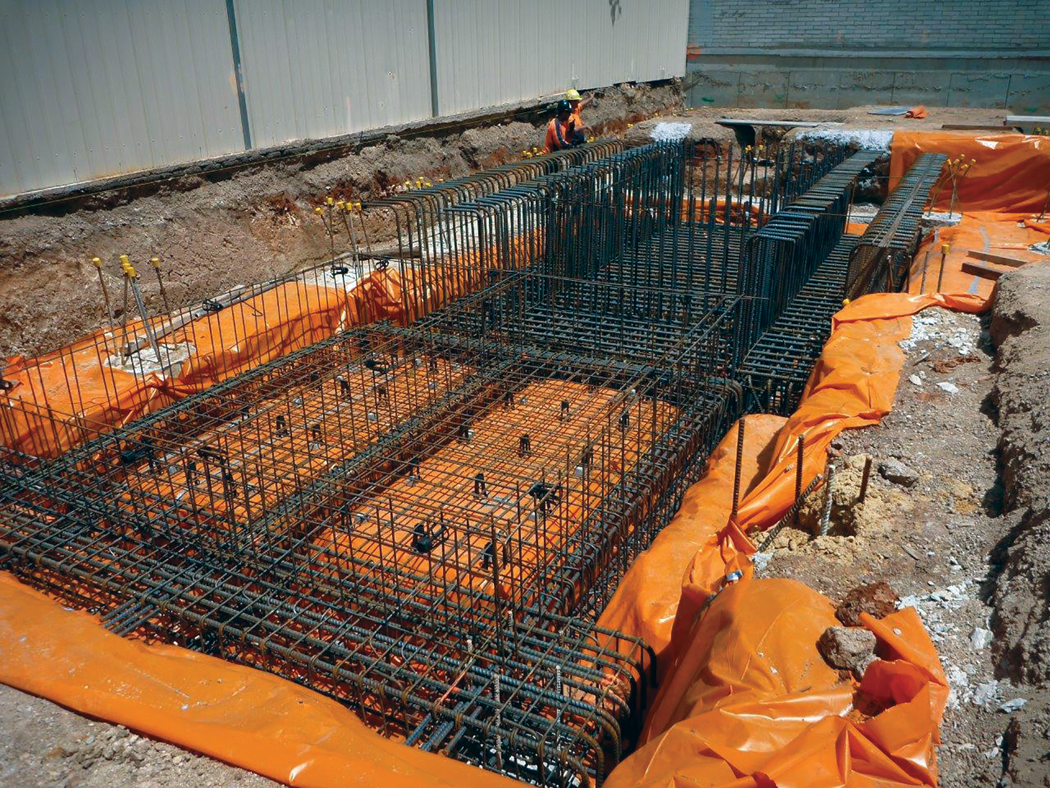 A Large Raft Foundation