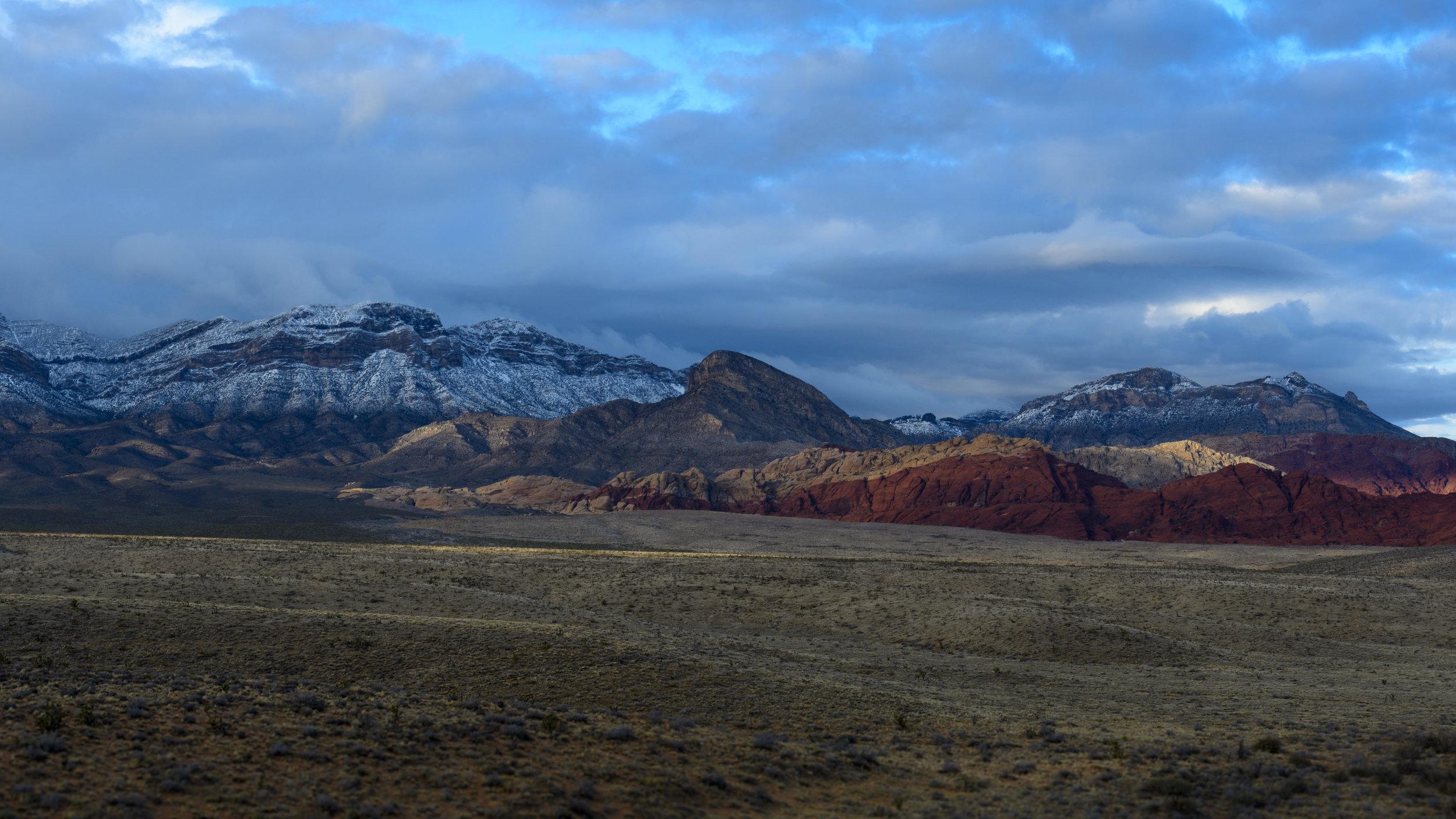 Redrock Canyon Winter
