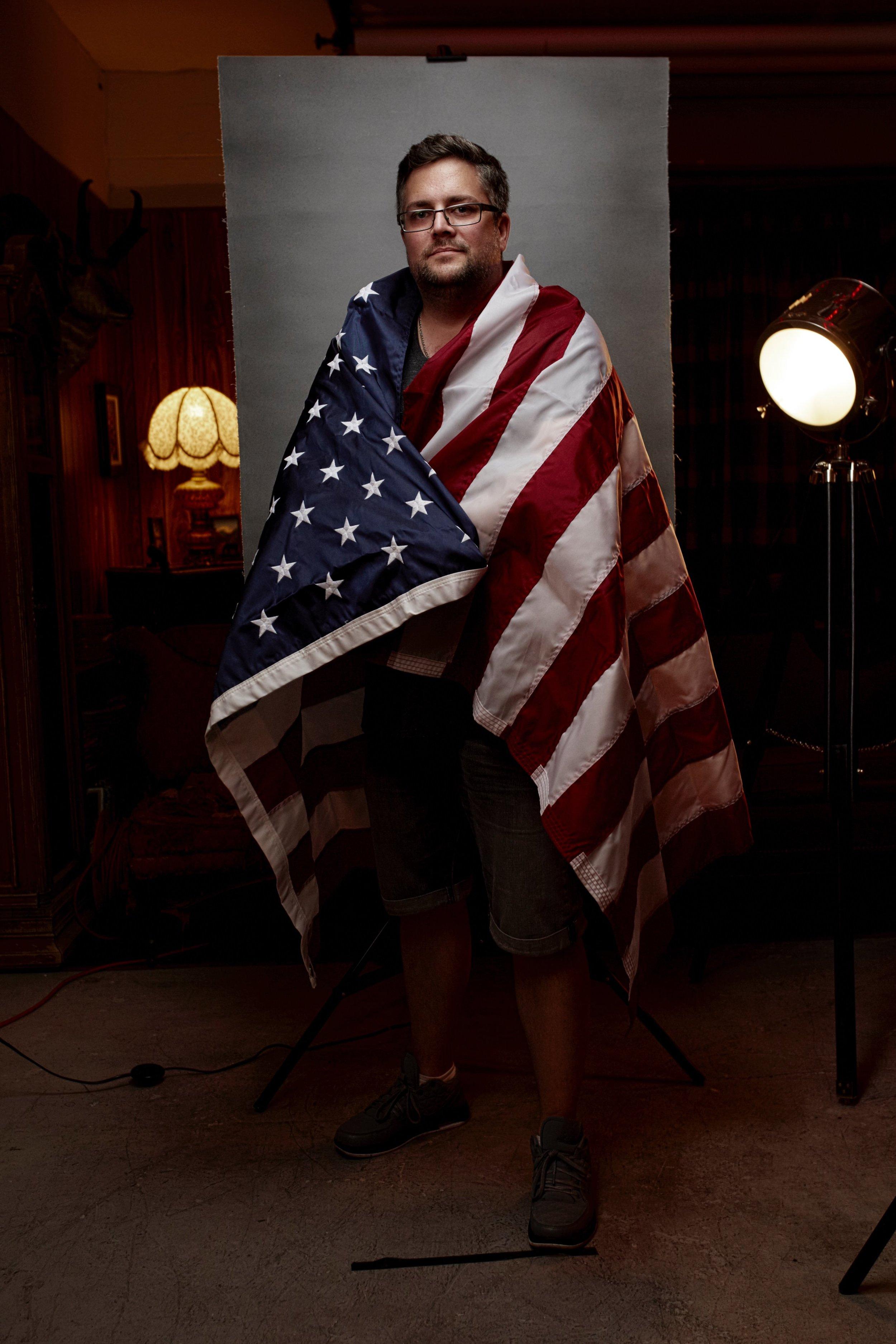 David J. Crewe - American Flag Project