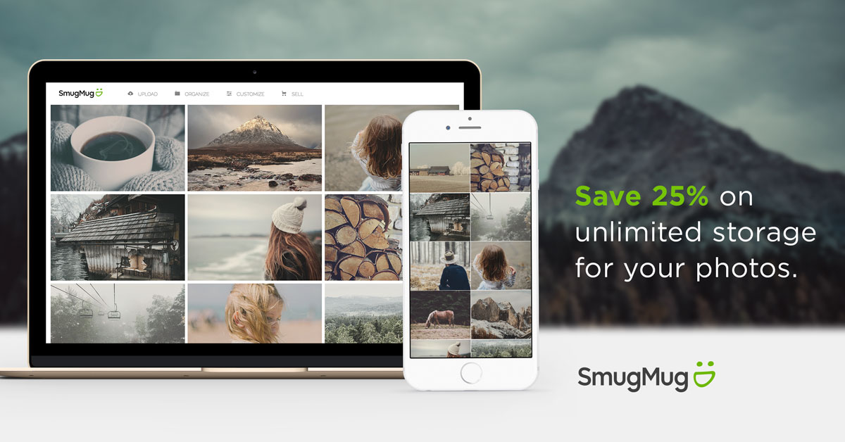 Save on SmugMug for the Holidays!