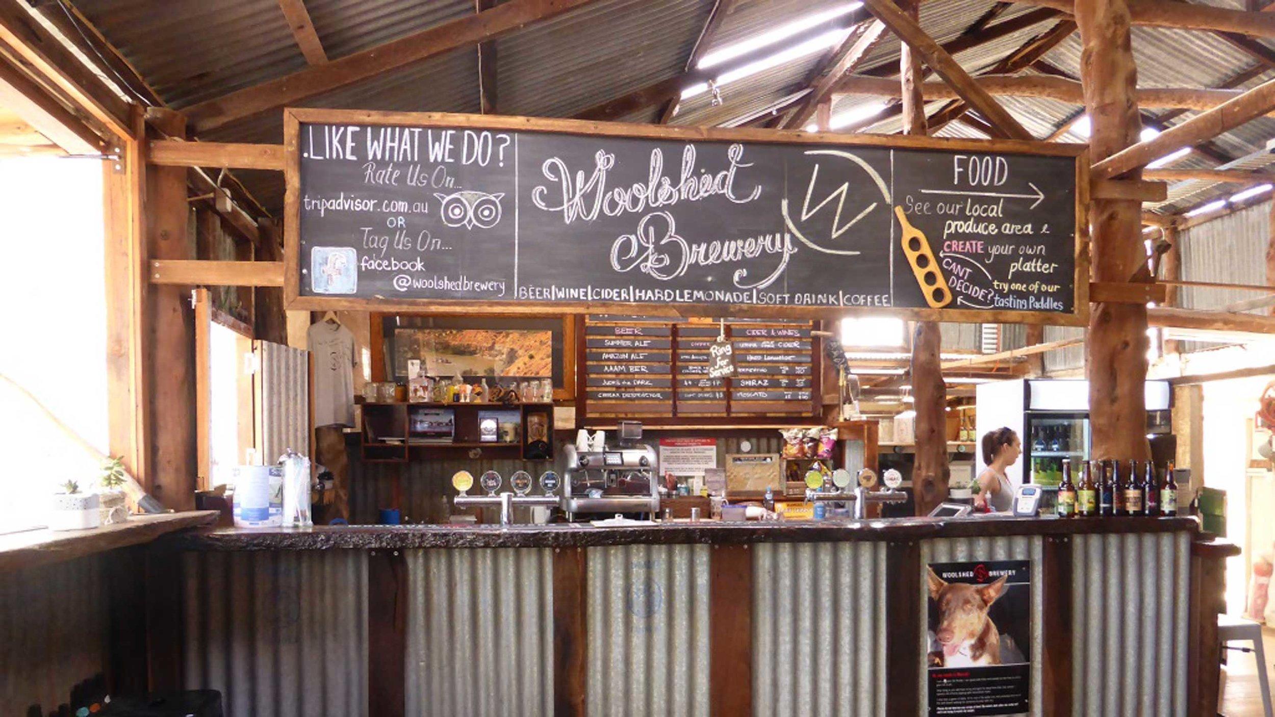 Wilkadene Woolshed Brewery -