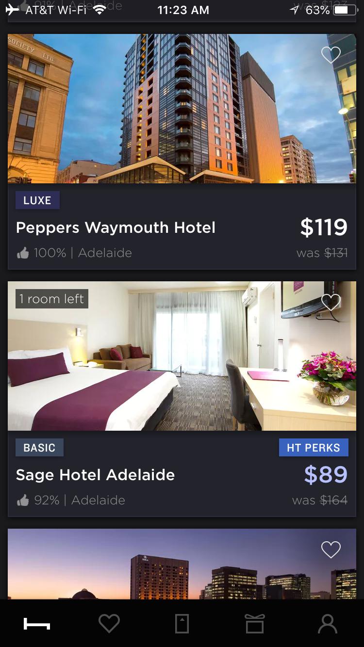 HotelTonight -