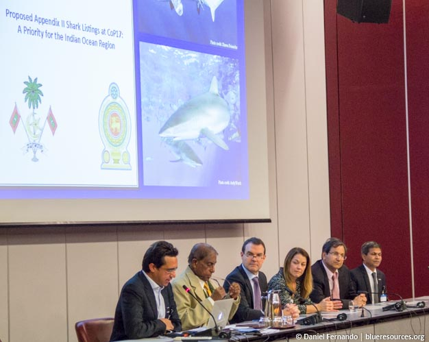 Blue Resources plays an advisory role to the Ministry of Sustainable Development and Wildlife of Sri Lanka. Here, co-founder Daniel Fernando forms part of the official Sri Lanka delegation to the CITES Standing Committee meeting in Geneva.