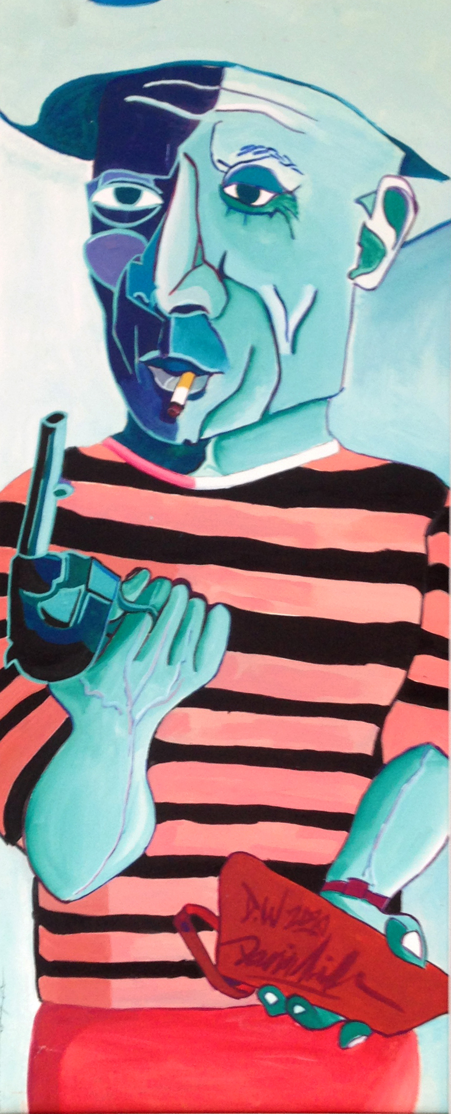 Picasso with a Pistol.jpeg