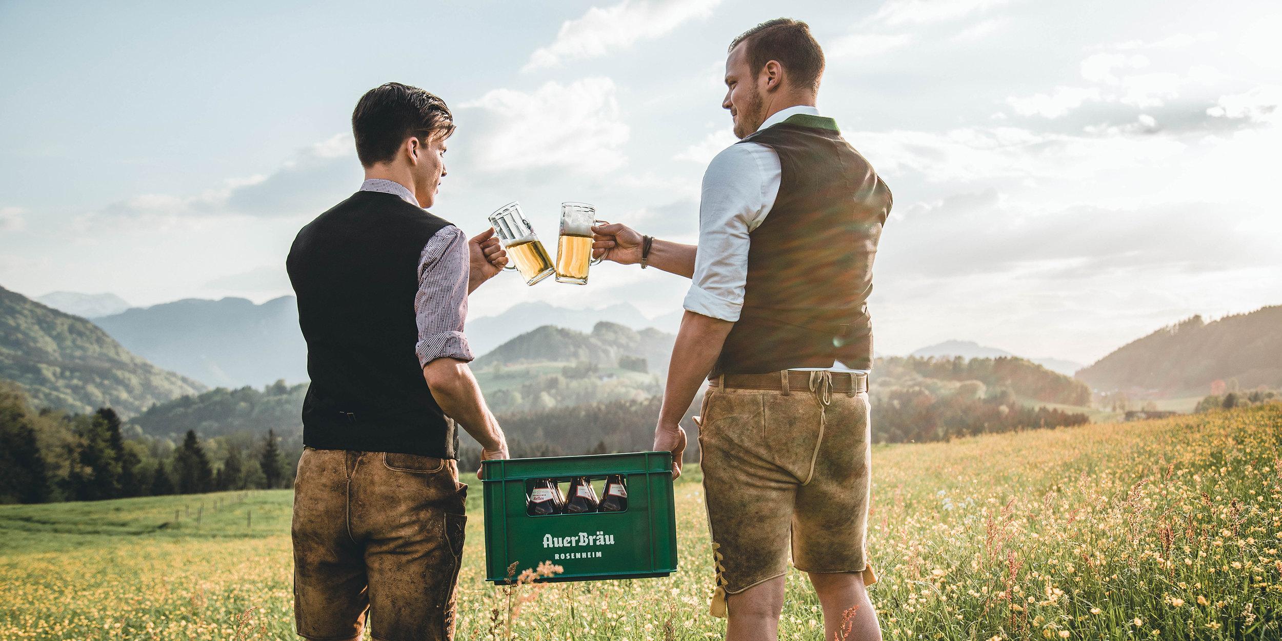 Marken-Relaunch der bayerischen Brauerei Auerbräu