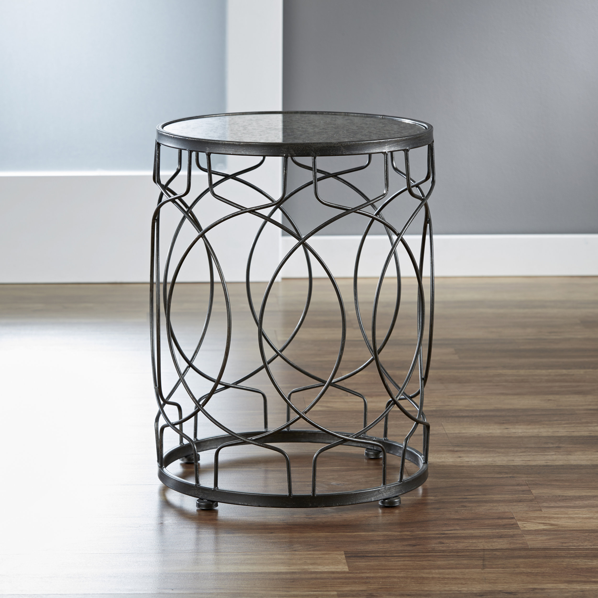 Loop Side Table in Oil-Rubbed Bronze