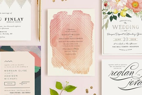 MINTED: Invitations, Place Cards, + More!