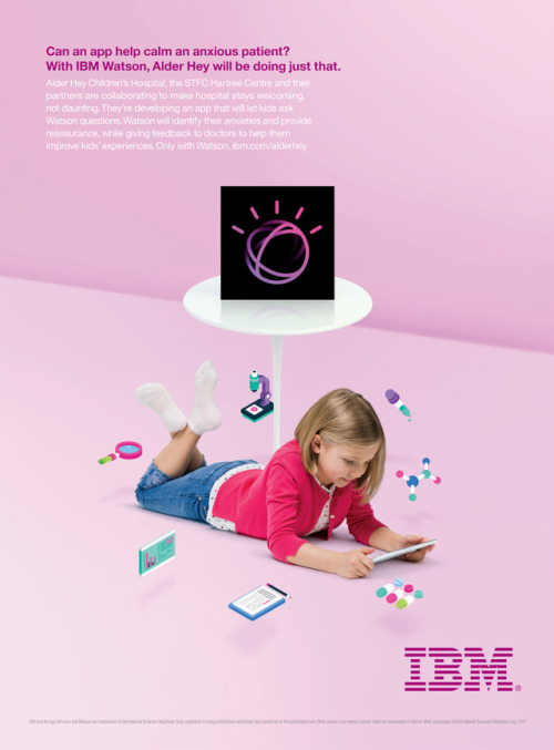 Client : IBM  Agency: Ogilvy & Mather  Photographer: Jake Chessum   PF Producer:  Stefania Consarino