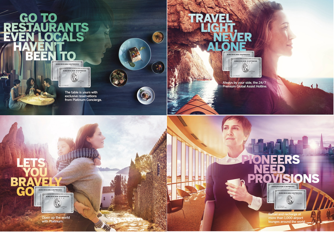 Global American Express Platinum Campaign  Client: American Express  Agency: Ogilvy & Mather  Photographer: William Abranowicz   Producer:  Stefania Consarino  Location: Spain