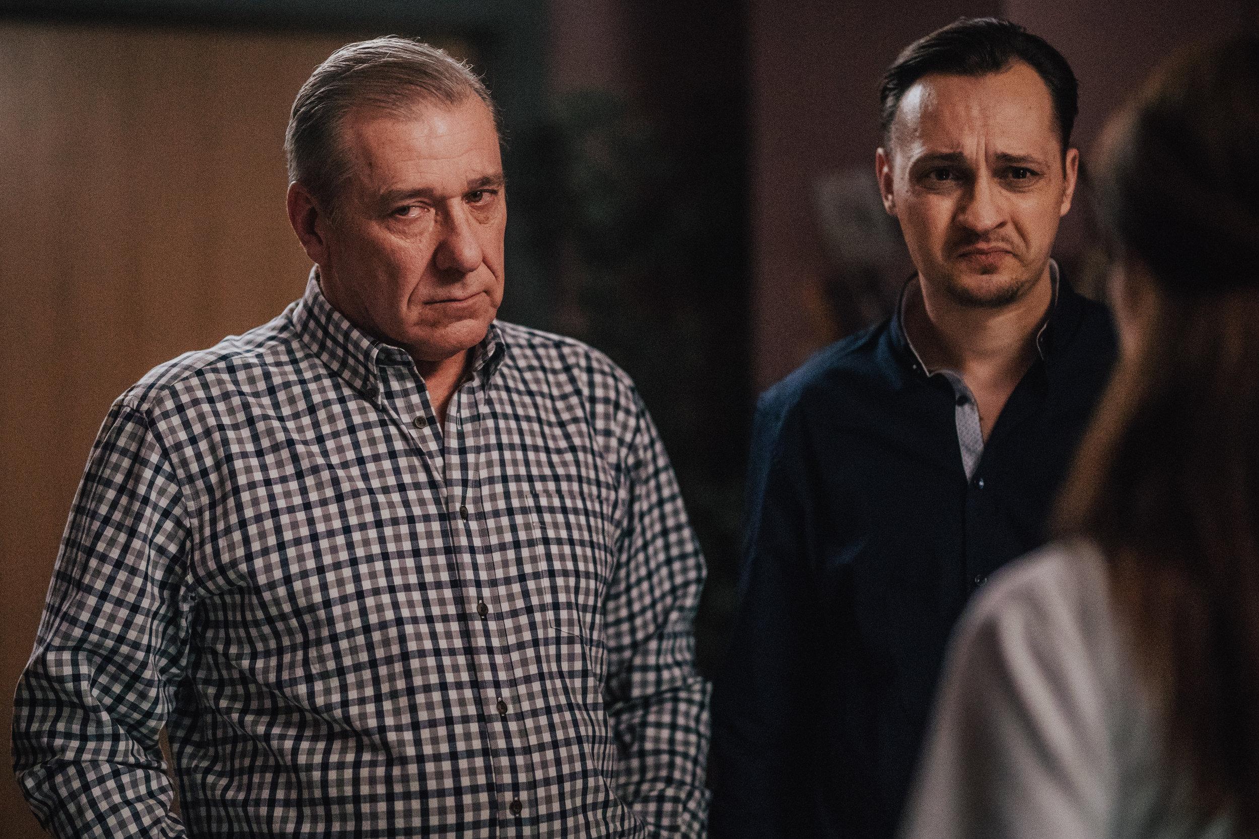 Ales Valic (Uros Lekic) and Blaz Setnikar (Jan)