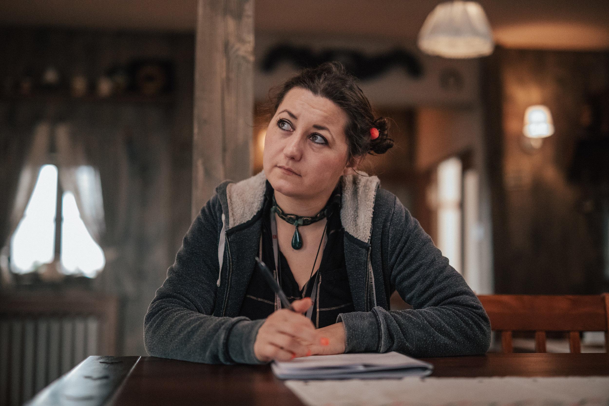 script supervisor Saska Jenic