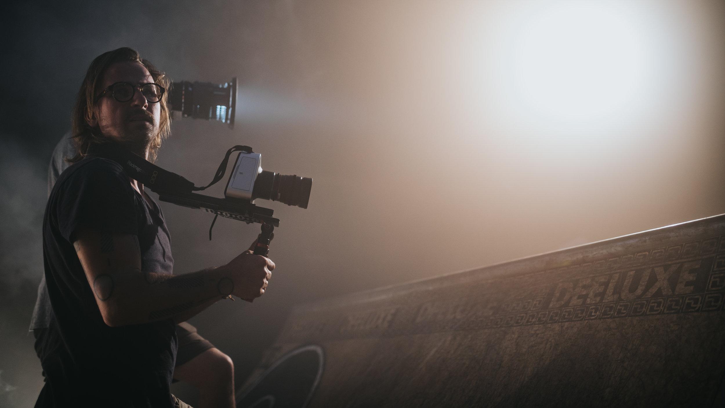 'RO7KA 2018 - Pravljica o zlati rolki' movie (2018)    Production: Hude Shoezz    Directors: Aljosa Korencan, Grega Svabic    DOP: Aljosa Korencan, Peter Perunovic    In frame: DOP Aljosa Korencan