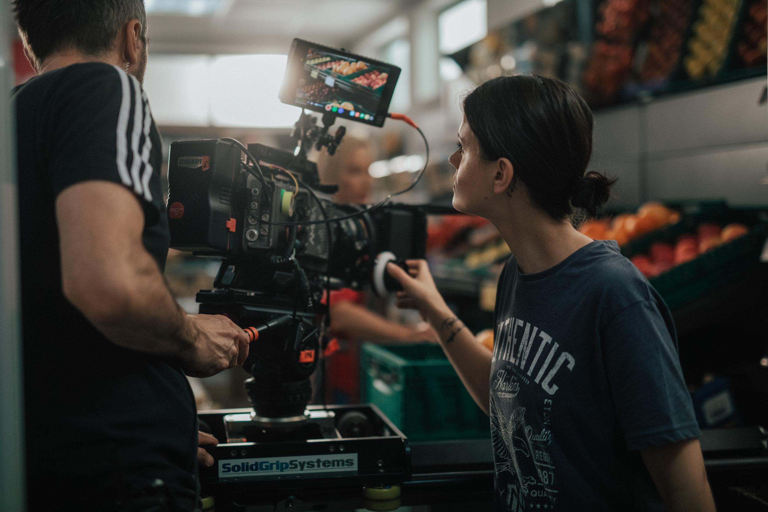 'Reka ljubezni' season 3 (2018)    Production: Perfo    Director: Jaka Suligoj    DOP: Maks Susnik    In frame: DOP Maks Susnik, AC Sara Ivanov