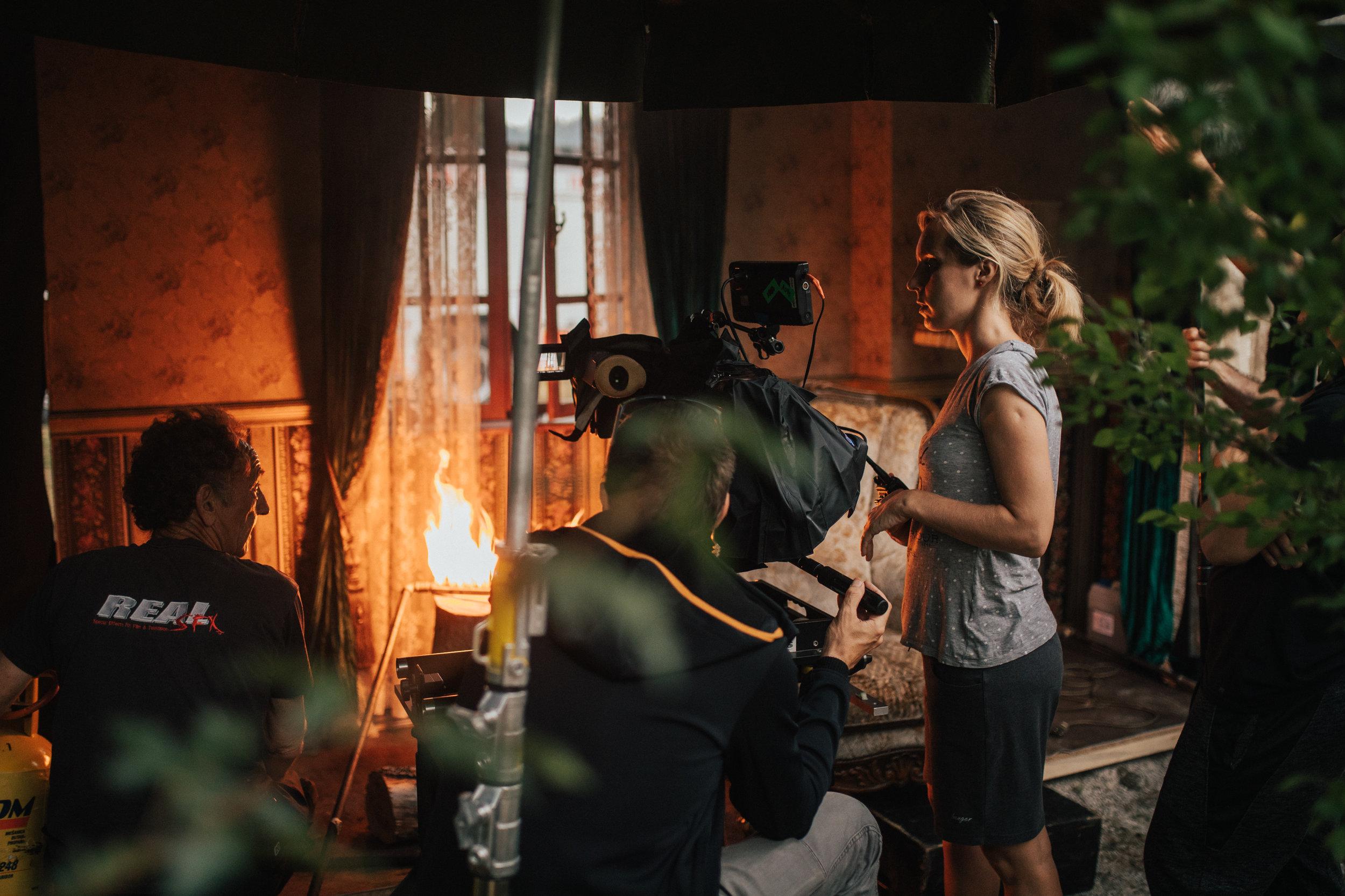 'Reka ljubezni' season 3 (2018)    Production: Perfo    Director: Maja Prettner    DOP: Maks Susnik    In frame: DOP Maks Susnik, director Maja Prettner