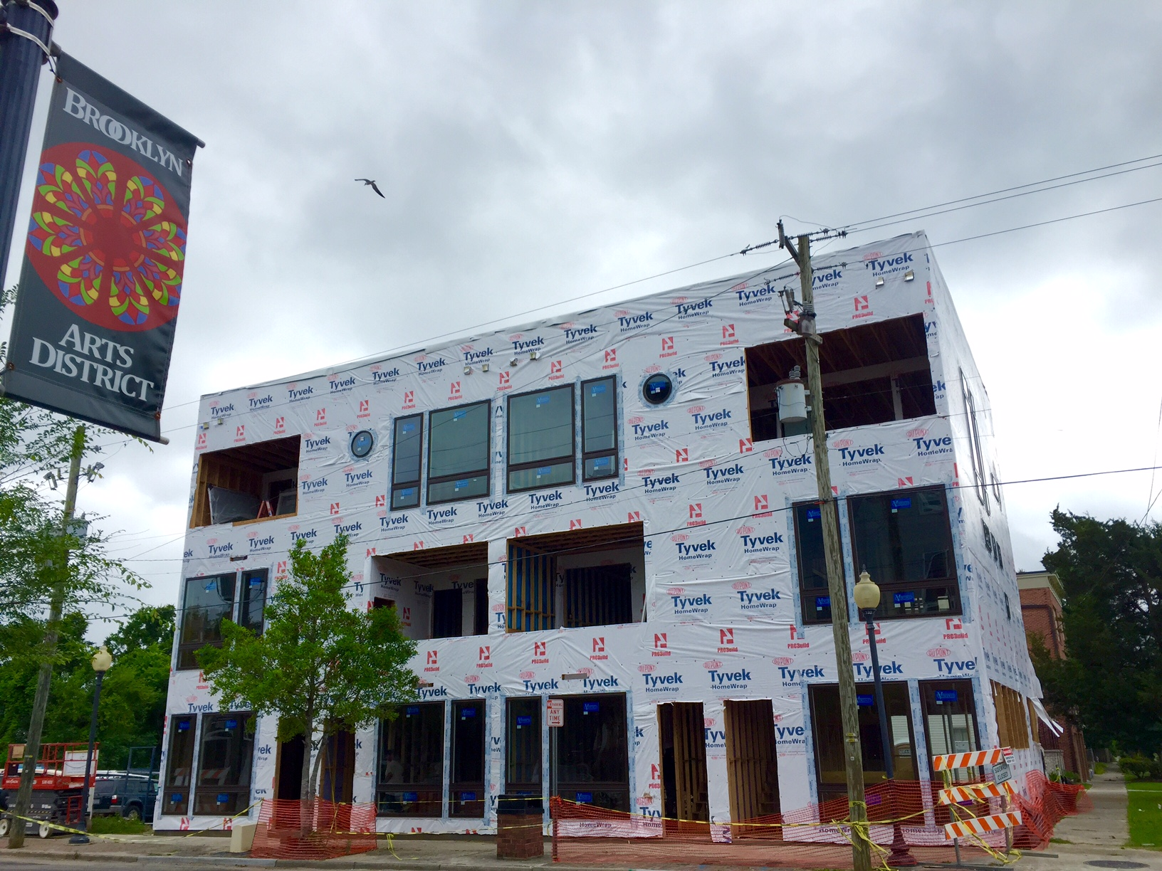 ROGUE Townhomes in progress