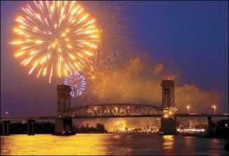 Wilmington NC Fireworks Show