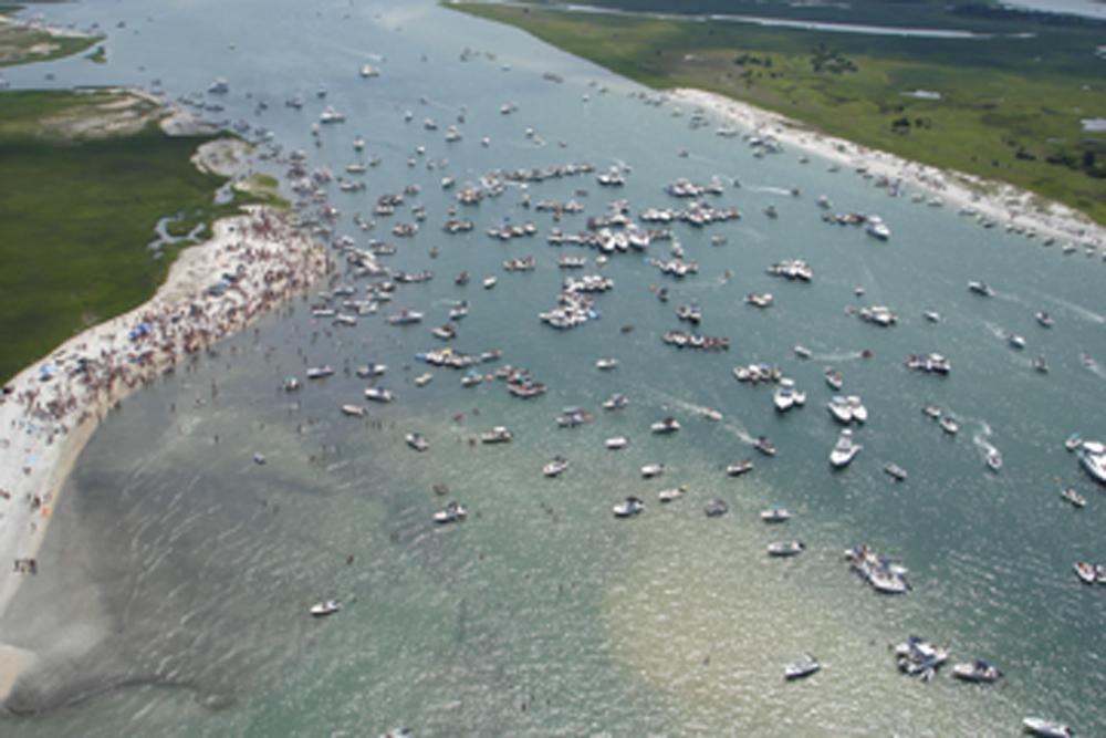 Masonboro Island 4th of July