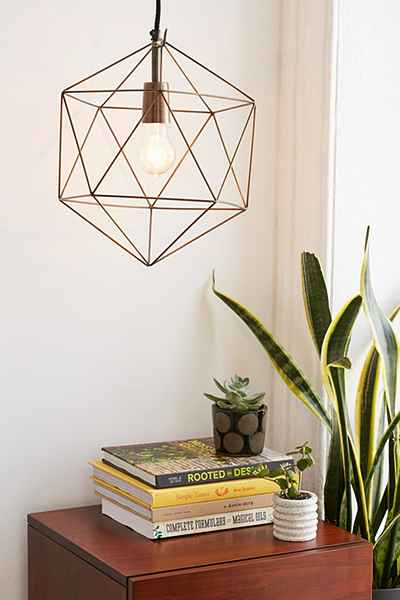 Geometric Pendant Urban Outfitters