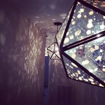 Mirrored pendant by West Elm