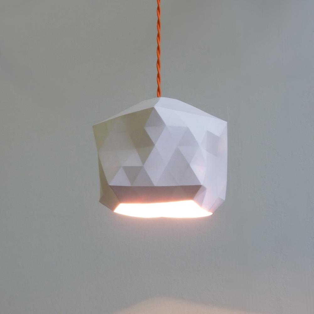 White geo light