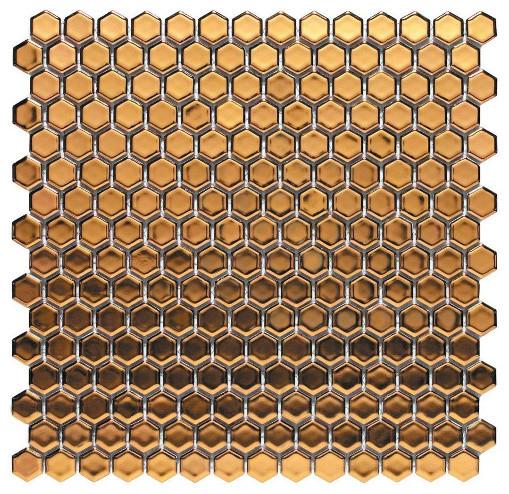 metallic mosaic
