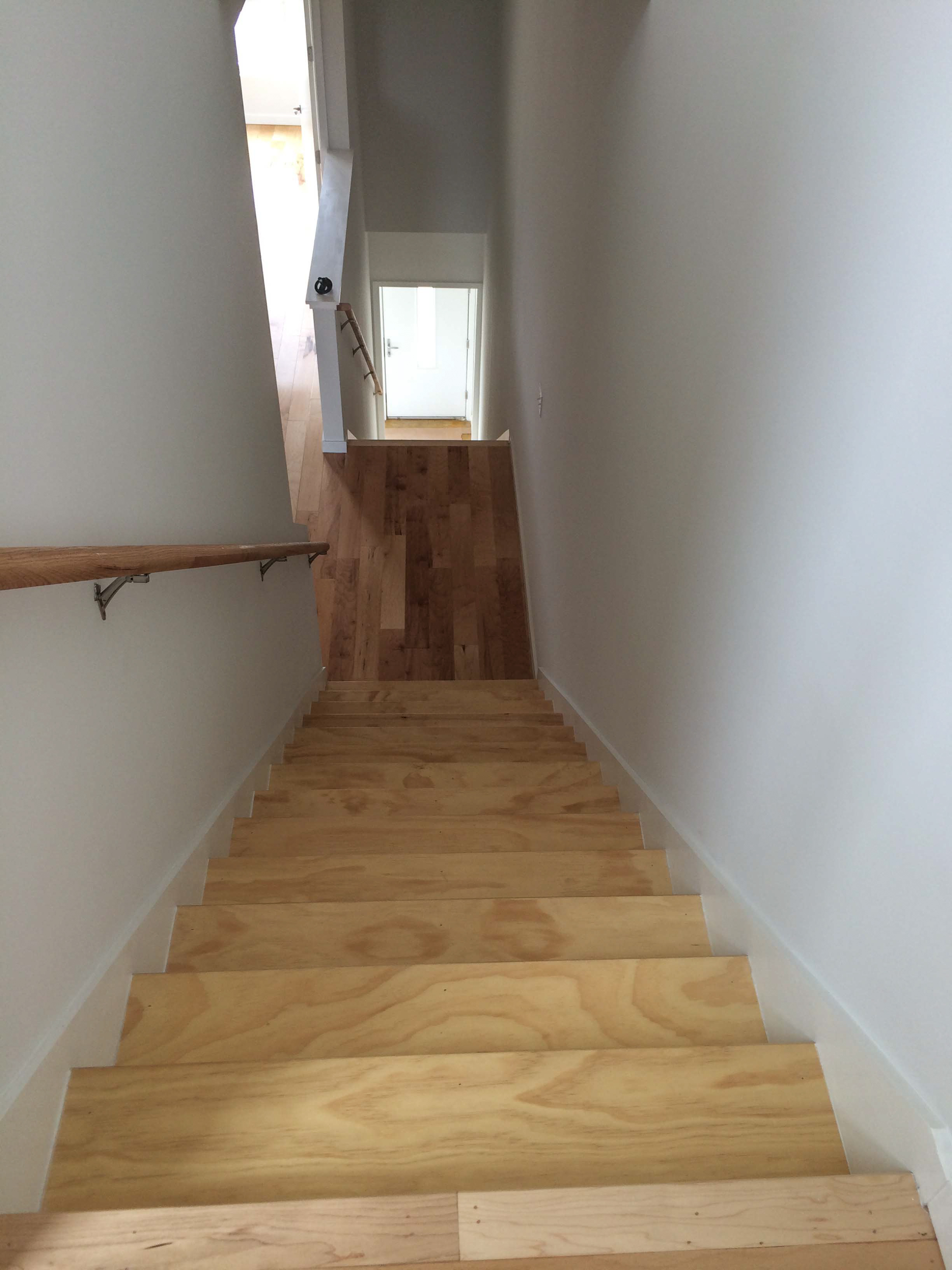 Rogue Townhomes stairway