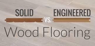 hardwood vs. engineered wood