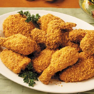 Crispy Smokey Baked Chicken