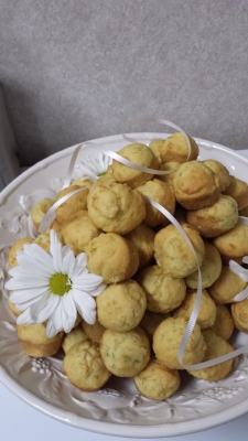 Lemon Dill Muffins