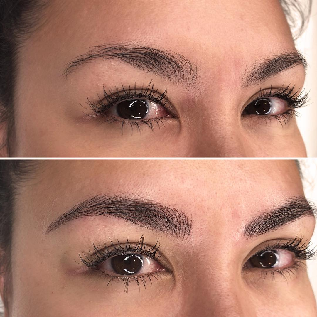 Debbie B. - I had my brows done for the first time with Cara. I was really nervous at first because I am so particular about my brows (I was using brow pencil at 14, yes). Anyway she put me at ease straight away, was really professional and friendly. She took her time and I didn't feel rushed, she shaped my brows perfectly too and I am so happy with the result. The best part...I no longer look like an egg with no make up on! My brows are amazingly defined whilst still looking natural. Love it!