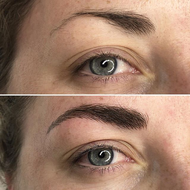 Gave these brows a thicker body to even out the shape 🖤See the before image for comparison 💫⠀ .⁣⠀⠀ .⁣⠀⠀ .⁣⠀⠀ #carascottcosmetics #microblading #phibrows #brows #phiacademy #semipermanentmakeup #eyebrows #microbladingeyebrows #beauty #micropigmentation #eyebrowtattoo #3dbrows #microbladingbrows #cosmetictattoo #eyebrowsonfleek #browgoals #browgame #mircobladinglondon